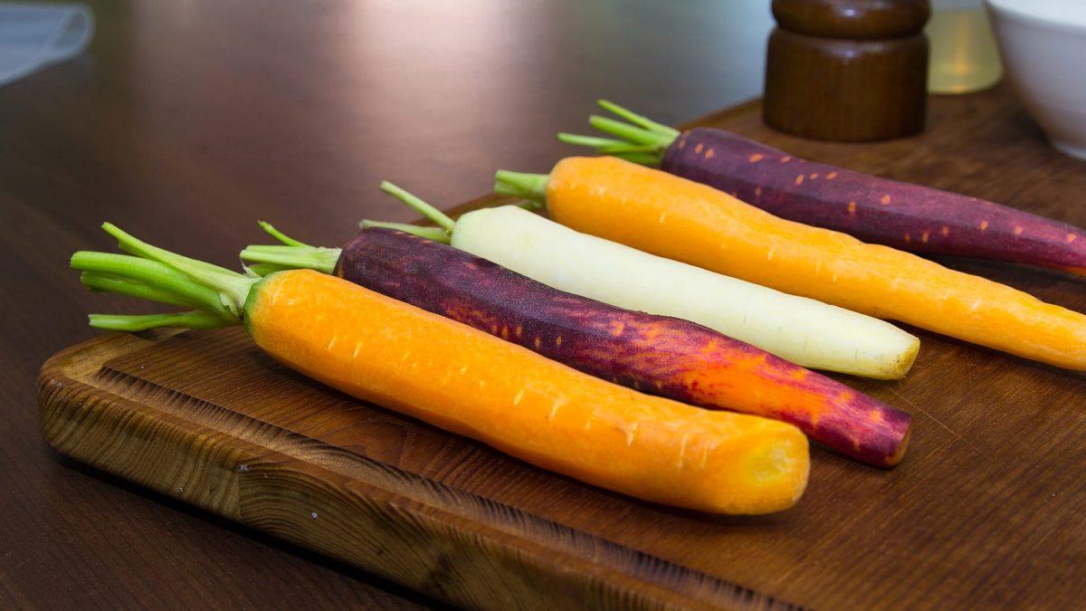 sous vide koken wortel