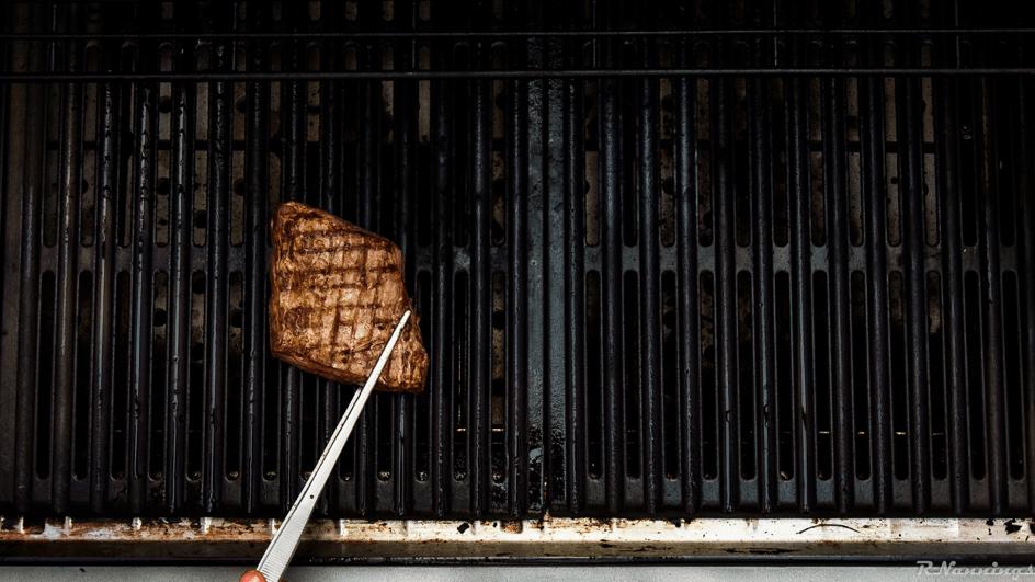 sous vide biefstuk grillen