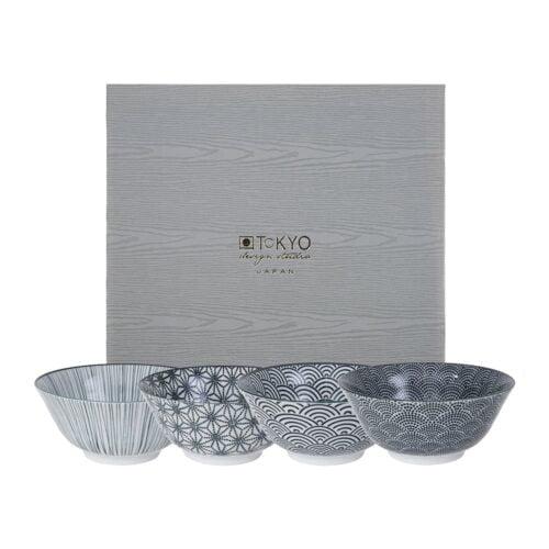 Nippon-black-bowl-set-4-stuks