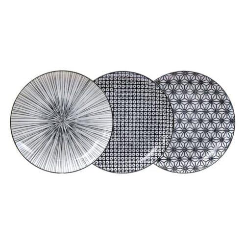 Nippon-zwarte-borden-set-3-stuks
