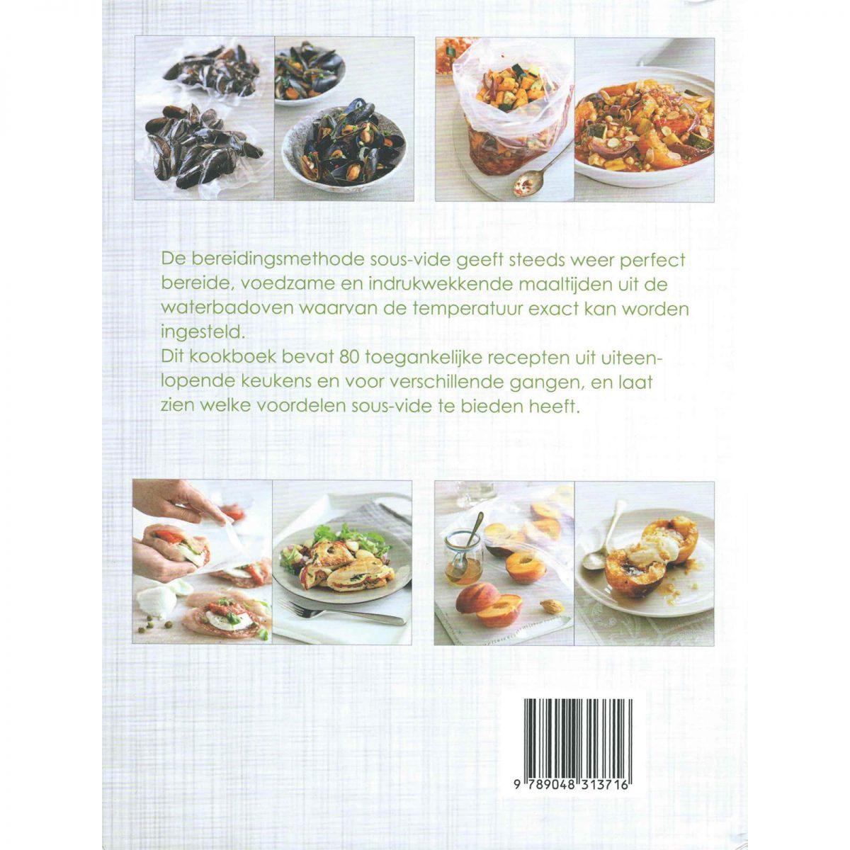 sous vide supreme kookboek